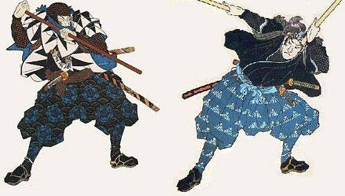 samurai with jo