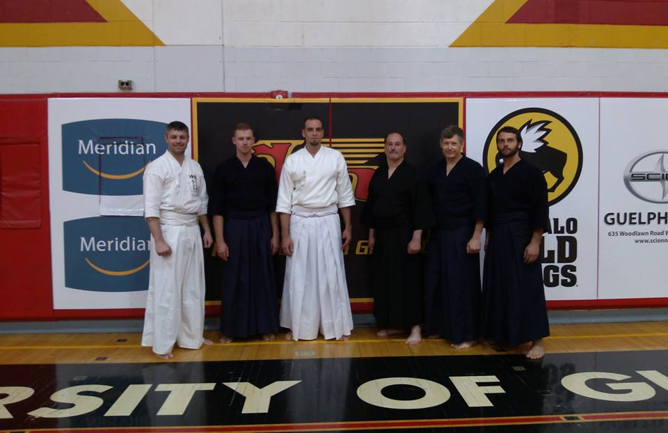 Kosho Jo-Do Group Guelph, ON May 2016