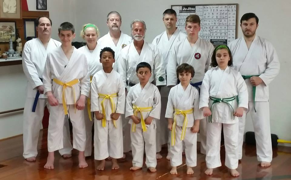 colored belt promotion