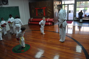 Kids Kumite Bowing